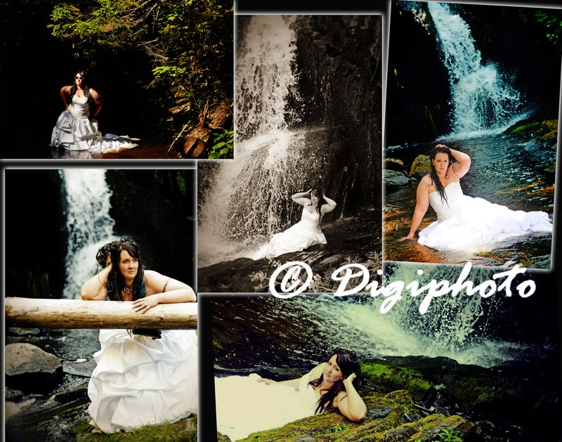 Trash the dress studio digiphoto